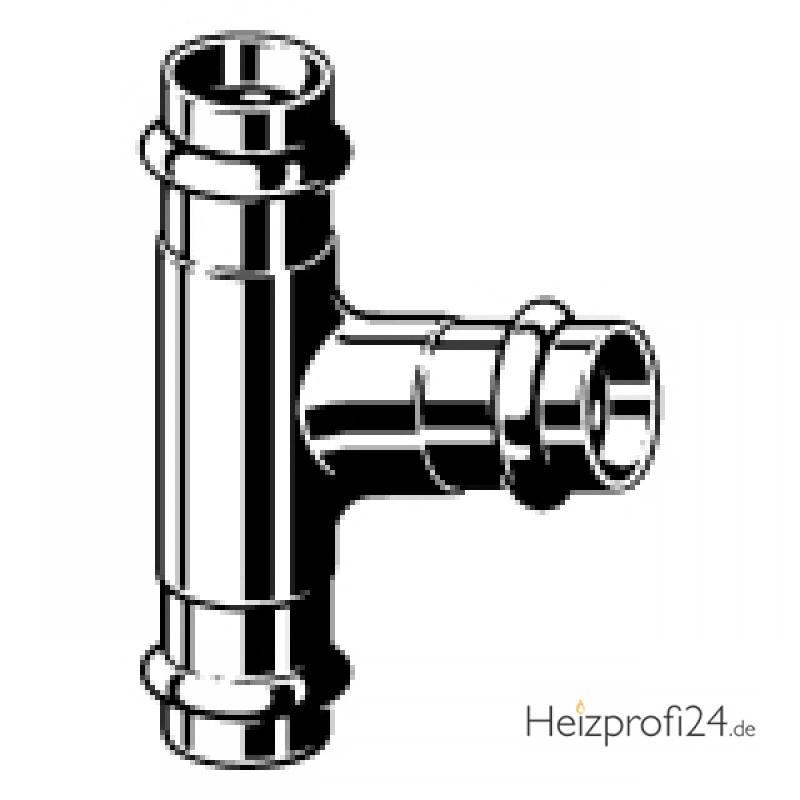 Sanpress-T-Stück, mit SC-Contur, 22 Viega 109257