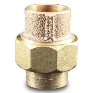 Rotguss Lötfitting Verschraubung Nr.4340 V konisch dichtend 15mm