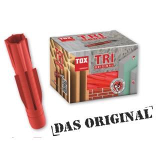 Tox-Allzweckdübel Typ TRI Ø 7 x 36 mm (100 Stk)