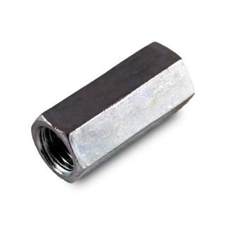 Gewindemuffe elektrolytisch verzinkt 5 Stk. M 10 x 30 mm
