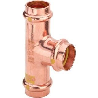 Profipress G (Gas)-T-Stück, mit SC-Contur, 15                          Viega 345938