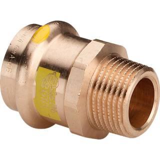 Profipress G (Gas)-Übergangsstück, SC-Contur, 18xR3/4                     Viega 346157