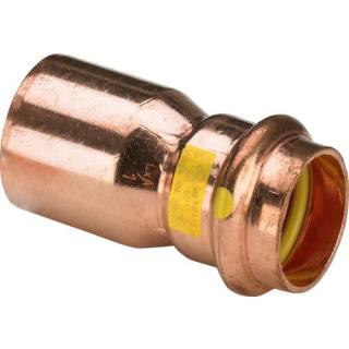 Profipress G (Gas)-Reduzierstück, SC-Contur, 22x18                       Viega 346577