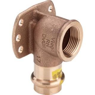 Profipress G (Gas)-Wandscheibe, mit SC-Contur, 22xRp3/4                    Viega 346706
