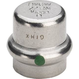 Sanpress Inox-Verschlusskappe, SC-Contur 35                          Viega 452896