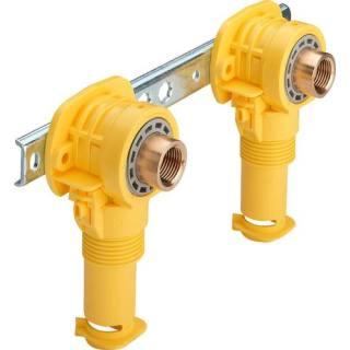Montageeinheit, aus 2 Anschlussdosen, SC, 16xRp1/2x80/100/150         Viega 302818