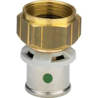 Sanfix P-Verschraubung,SC-Contur,flachd. 20xG1/2                     Viega 446468