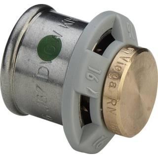 Sanfix P-Verschlussstück mit SC, aus Rotguss, 16             Viega 488116