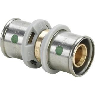 Sanfix P-Kupplung, gerade, mit SC-Contur 32x25                       Viega 566500