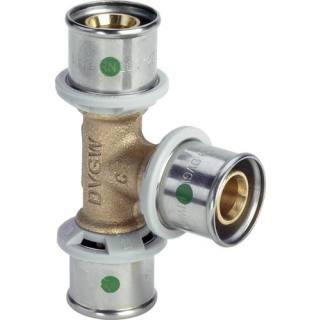 Sanfix P-T-Stück, mit SC-Contur, 32x25x32                    Viega 566821