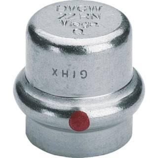 Prestabo-Verschlusskappe, mit SC, 28                          Viega 643614