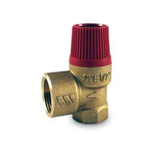 """Watts Membran - Sicherheitsventil für geschlossene Heizungsanlagen nach DIN EN 12828, bauteilgeprüft 1/2"""" 3,0 bar"""