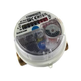 """3/4"""" Wasserzähler Universal EVK/W-3/5-V +m Kaltwasser 2,5 m³/h 130 mm mit Verschraubung"""