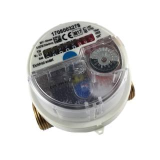 """1/2"""" Wasserzähler Universal EVK/W-3/5-V +m Warmwasser 1,5 m³/h 110 mm mit Verschraubung"""