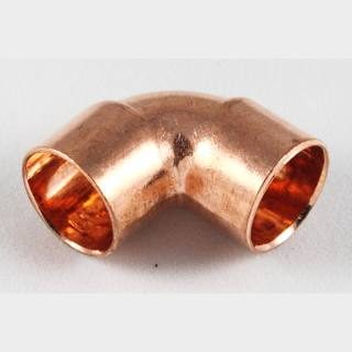Kupfer Lötfitting Winkel 90° i/i 35 mm