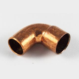 Kupfer Lötfitting Winkel 90° i/a 35 mm
